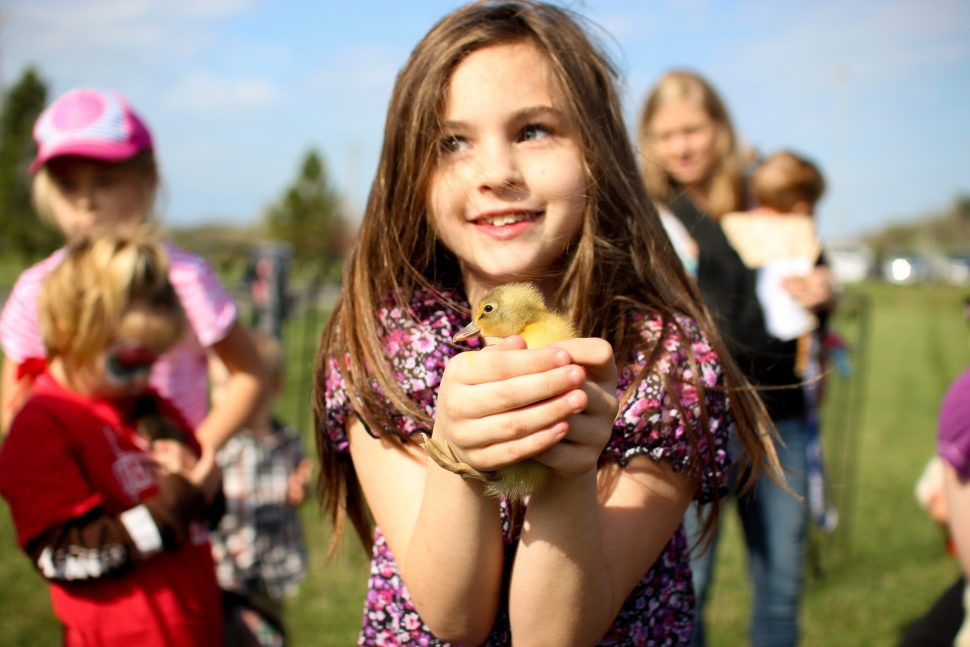 ABA Pediatrics, Child with Duckling