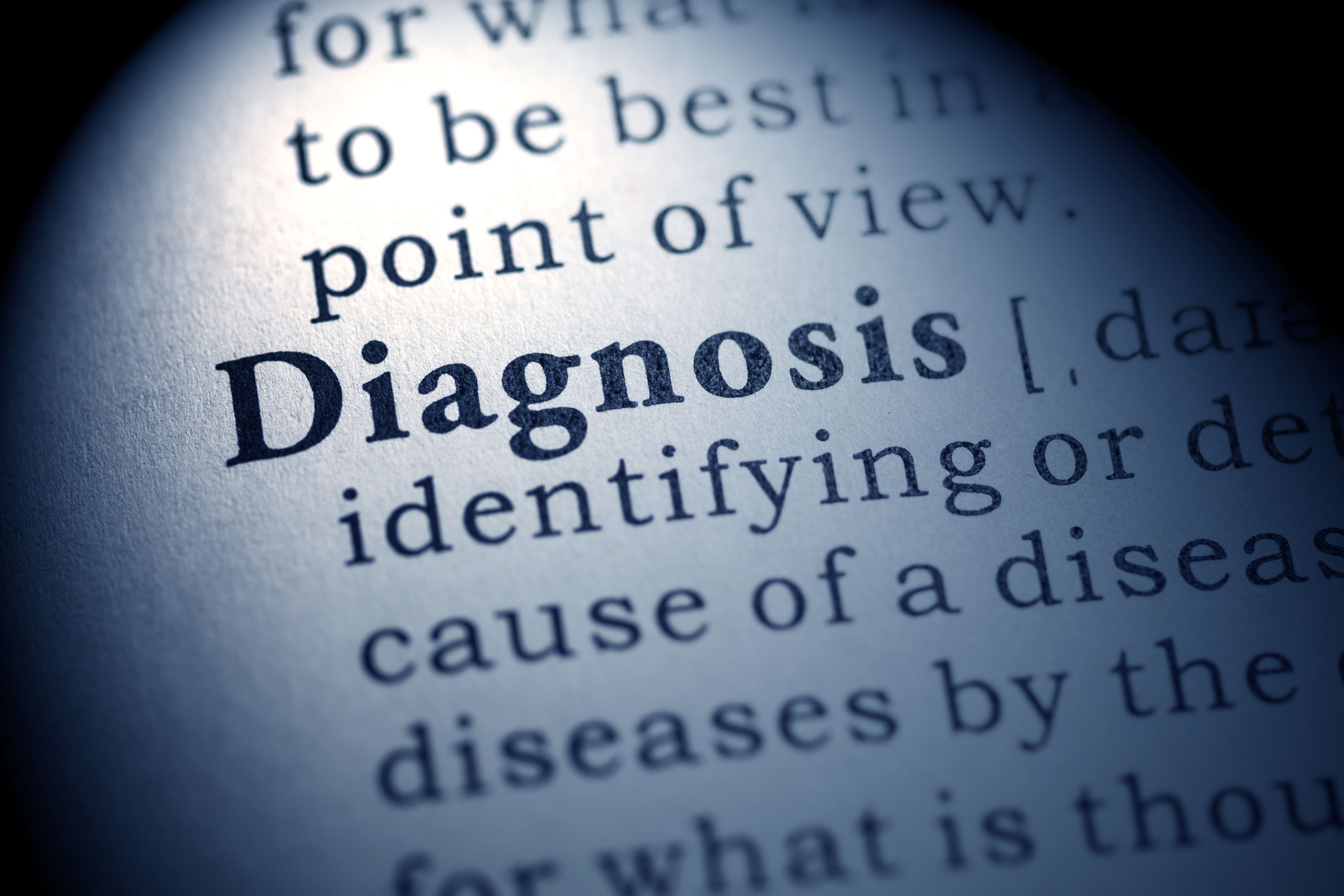 Diagnosis is necessary